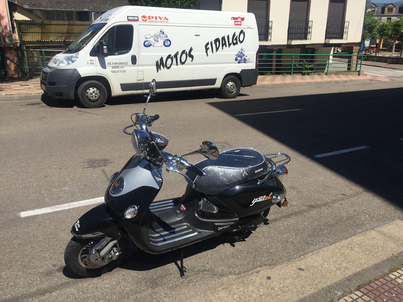 Scooter Motos Fidalgo - bembibre